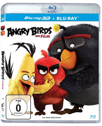 : Angry Birds Der Film 3D 2016 German Dl 1080p BluRay x264 - BluRay3D
