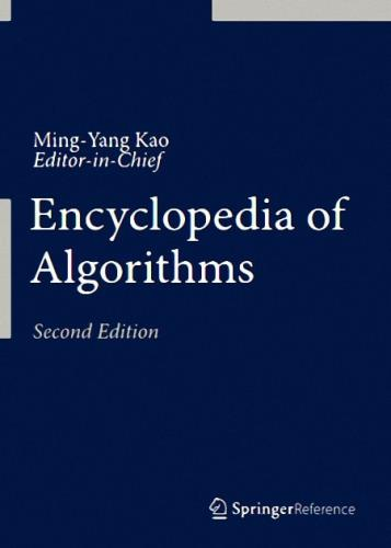 Ming-Yang Kao - Encyclopedia of Algorithms, Second Edition
