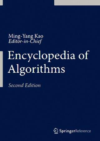 Ming-Yang Kao - Encyclopedia of Algorithms, Second Edition