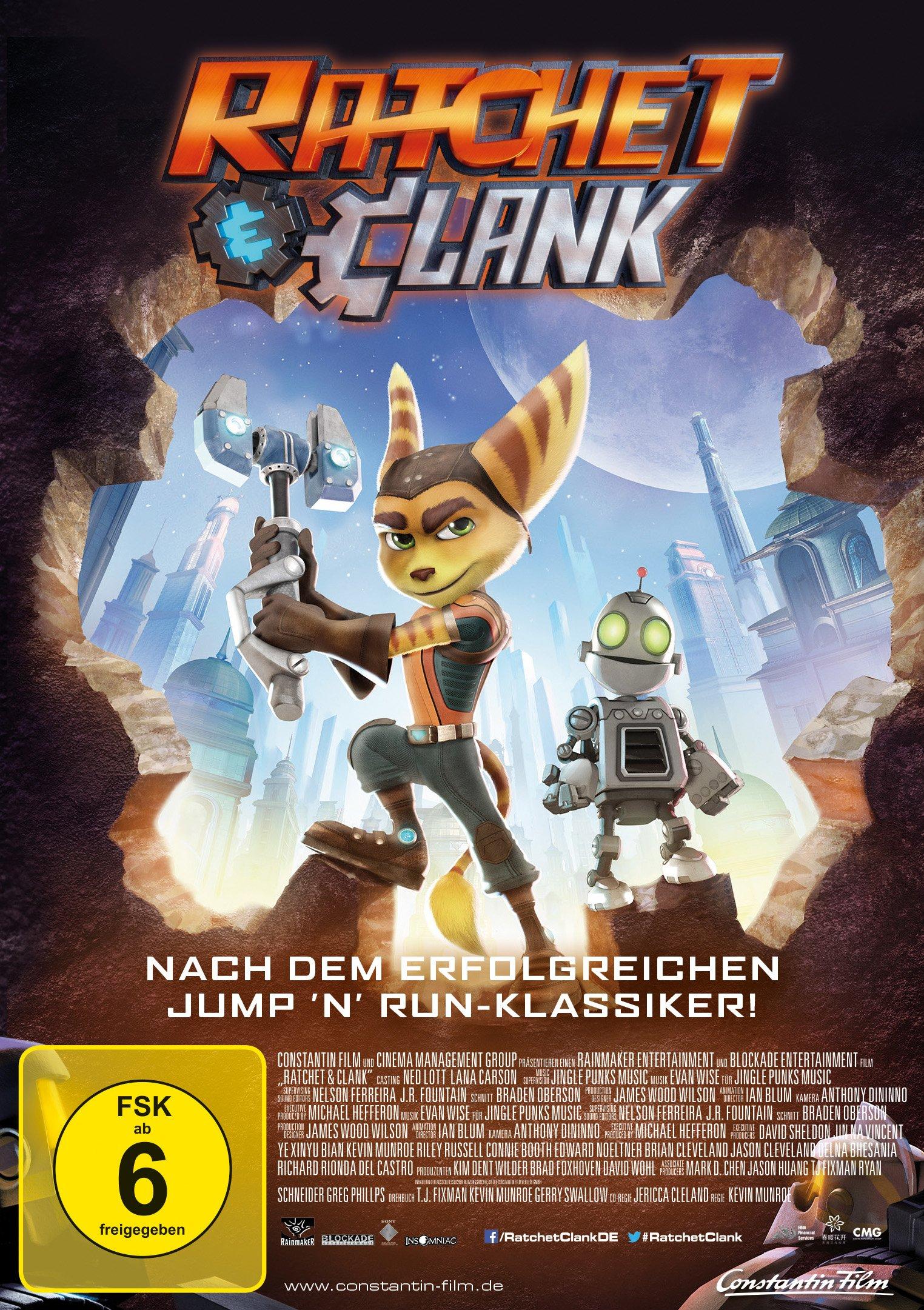 : Ratchet und Clank 2016 German Dts Dl 720p BluRay x264-CoiNciDence