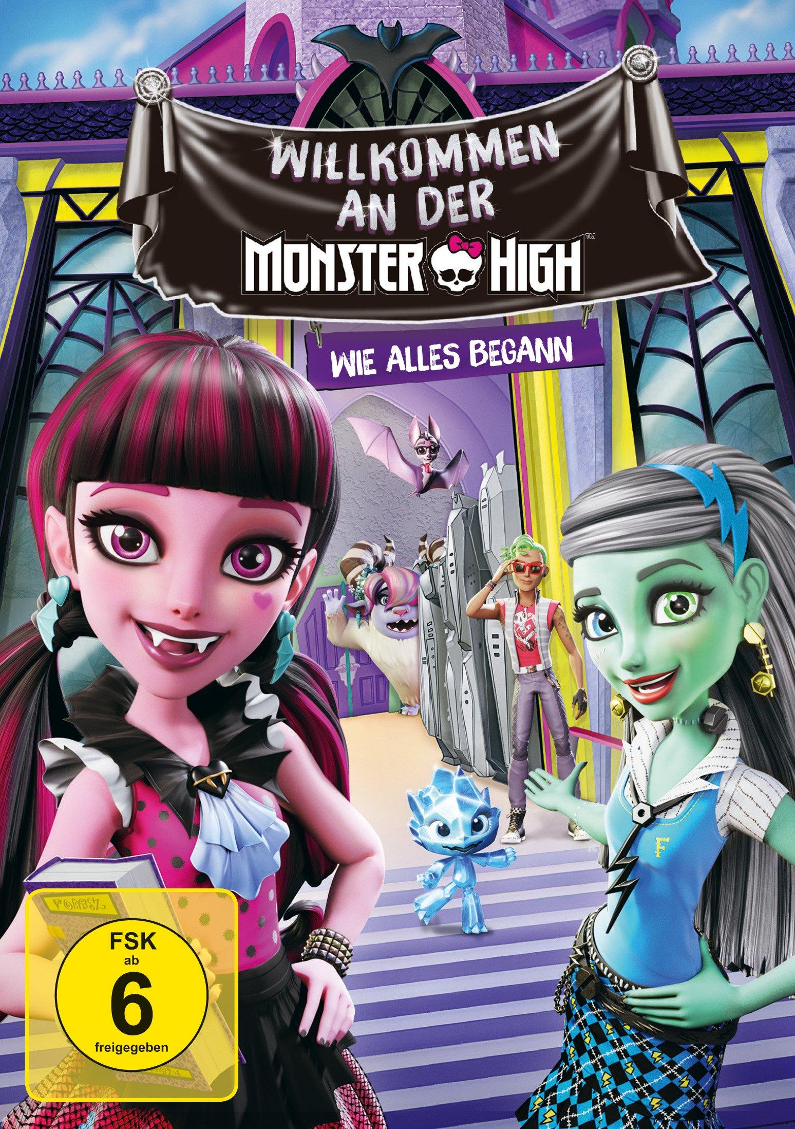 : Monster High Willkommen an der Monster High German 2016 Ac3 Dvdrip x264-iMperiUm
