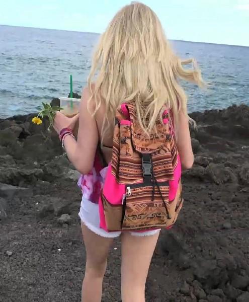 Elaina Raye - Elaina is proud of her dirty feet in Hawaii 1080p Cover