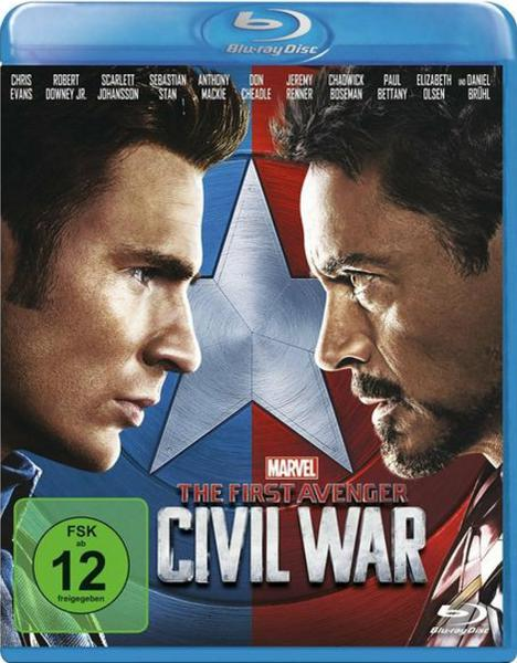 : The First Avenger Civil War 2016 2d MULTi complete BluRay Disc Edition inferno