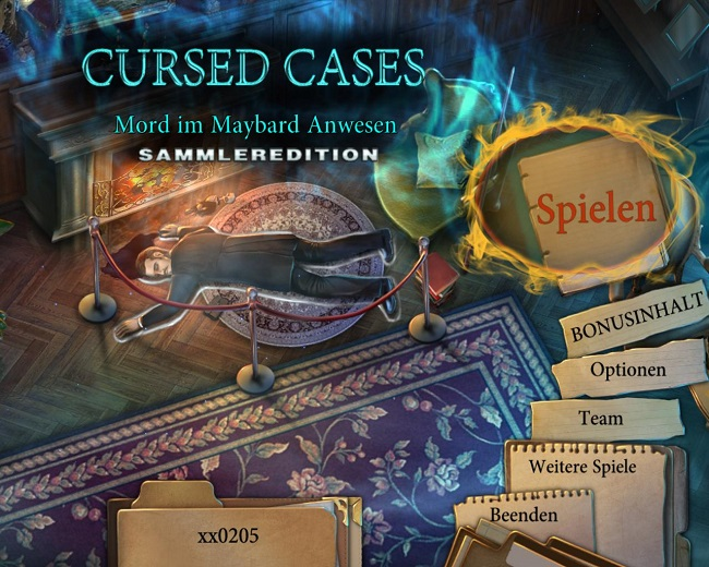 Cursed Cases: Mord im Maybard Anwesen Sammleredition (Deutsch)