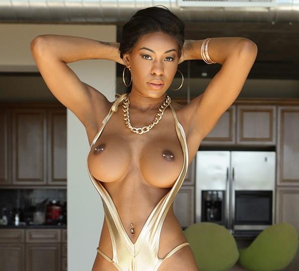 Nadia Jay - Tiny Ebony Pussy Cover