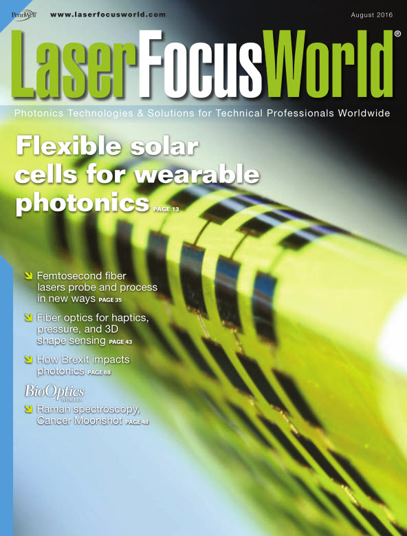 : Laser Focus World - August 2016