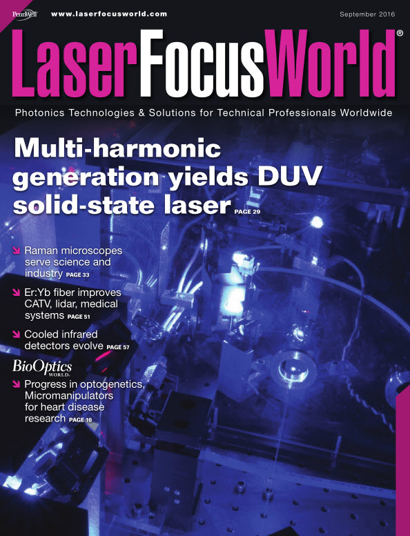: Laser Focus World - September 2016