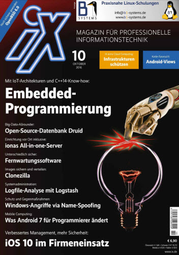 : ix Germany No 10 – Oktober 2016