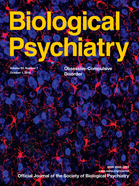 : Biological Psychiatry - 1 October 2016