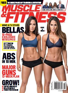 : Muscle and Fitness Usa - October 2016
