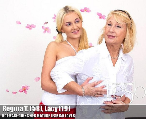 Regina T. - 58, Lacy - 19 Cover