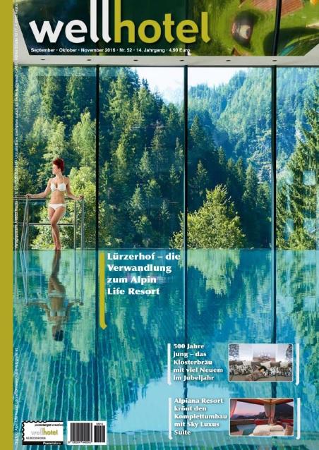 : WellHotel Magazin - September-November 2016