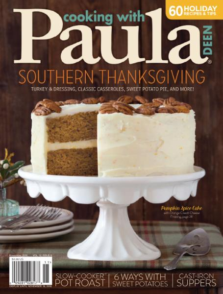 : Cooking with Paula Deen - November 2016