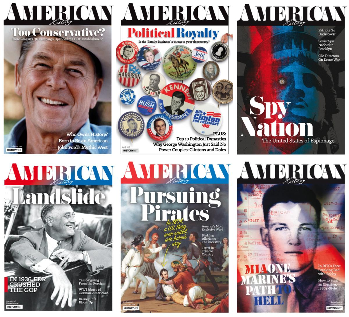 : American History - 2016 Full Year Issues Collection