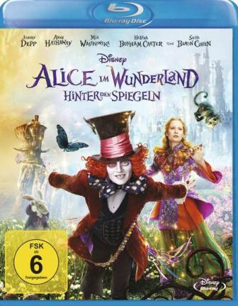 : Alice im Wunderland Hinter den Spiegeln Alice Through the Looking Glass 2016 complete bluray bda