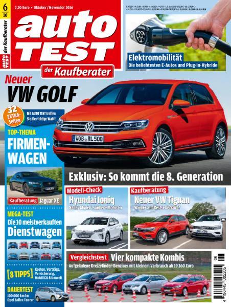 : Auto Test Germany - Oktober-November 2016