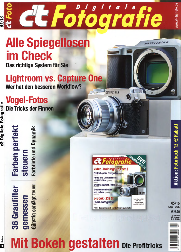 : ct digitale Fotografie No  05 - September - Oktober 2016