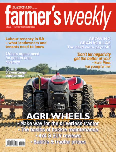 : Farmer Weekly - 30 September 2016