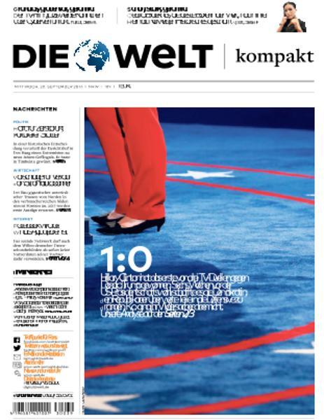 : Die Welt Kompakt - 28 September 2016