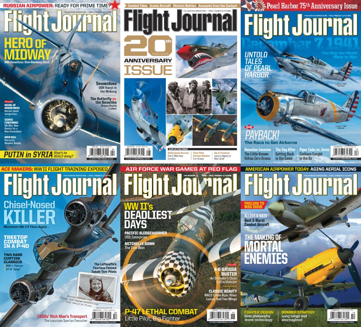 : Flight Journal - 2016 Full Year Issues Collection