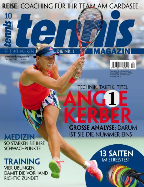 : Tennis Magazin - Oktober 2016