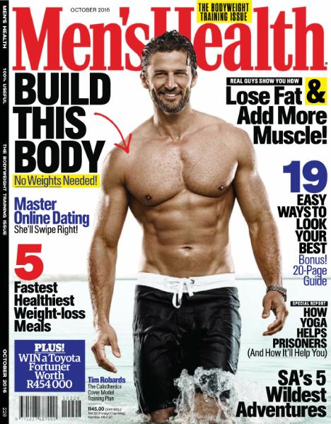 : Men Health South Africa - October 2016