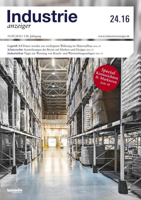 : Industrie Anzeiger - Nr 24 2016