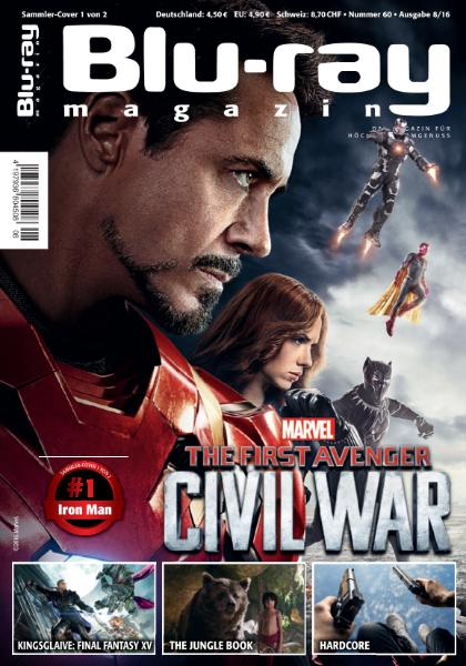 : Blu-ray Magazin - August 2016