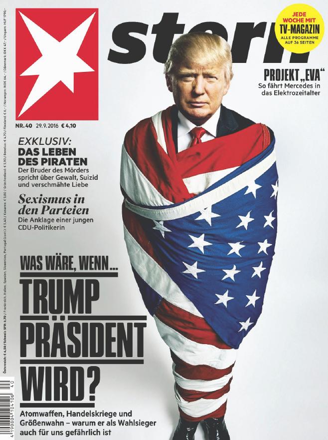 : stern Magazin No  40 - 29  September 2016