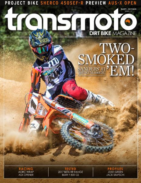 : Transmoto Dirt Bike - September-October 2016