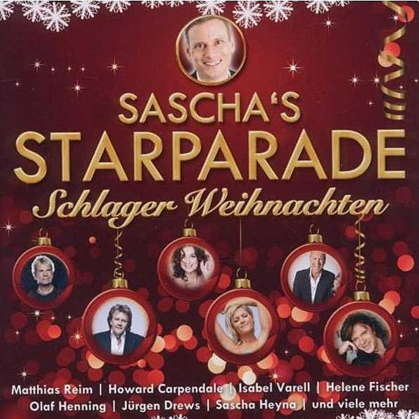 folk sascha s starparade schlager weihnachten 2cd. Black Bedroom Furniture Sets. Home Design Ideas