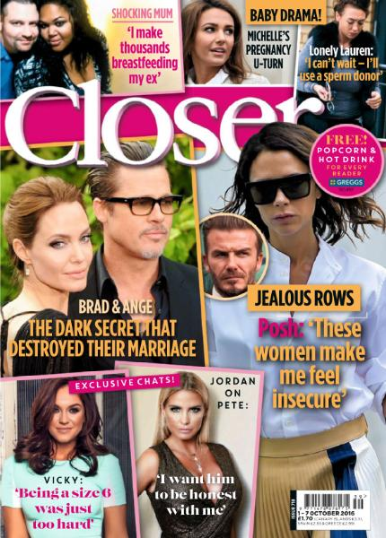 : Closer Uk - 1 October 2016