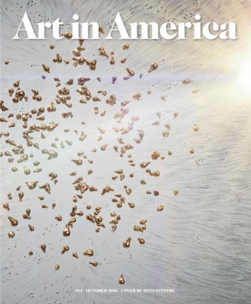 : Art in America - October 2016