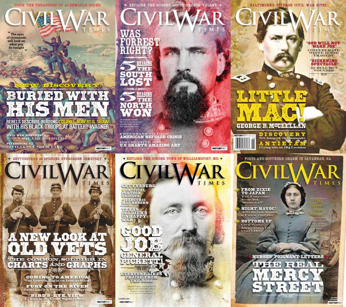 : Civil War Times - 2016 Full Year Issues Collection