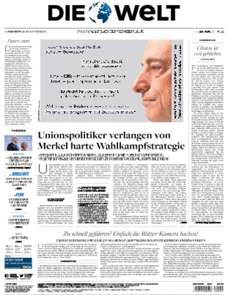 : Die Welt - 28 September 2016