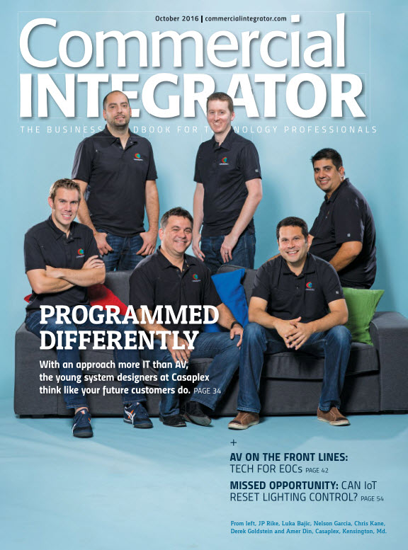 : Commercial Integrator - October 2016