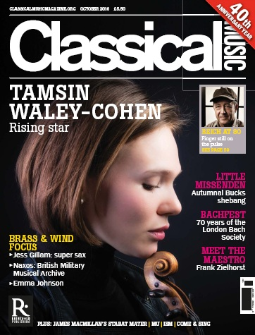 : Classical Music - October 2016