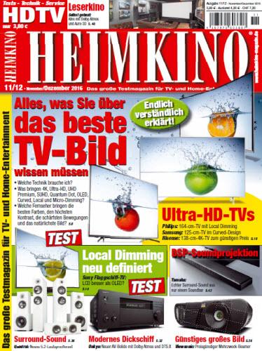 : Heimkino No 11 12 – November Dezember 2016