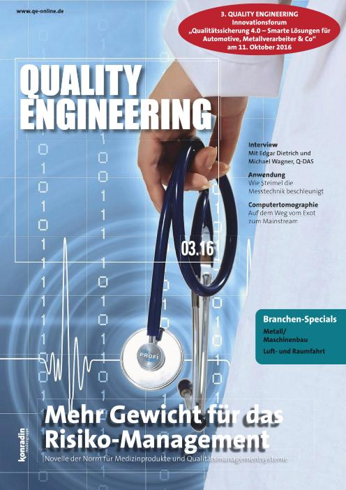 : Quality Engineering - Nr 3 2016