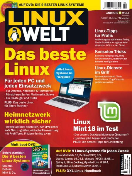 : LinuxWelt - Oktober-November 2016