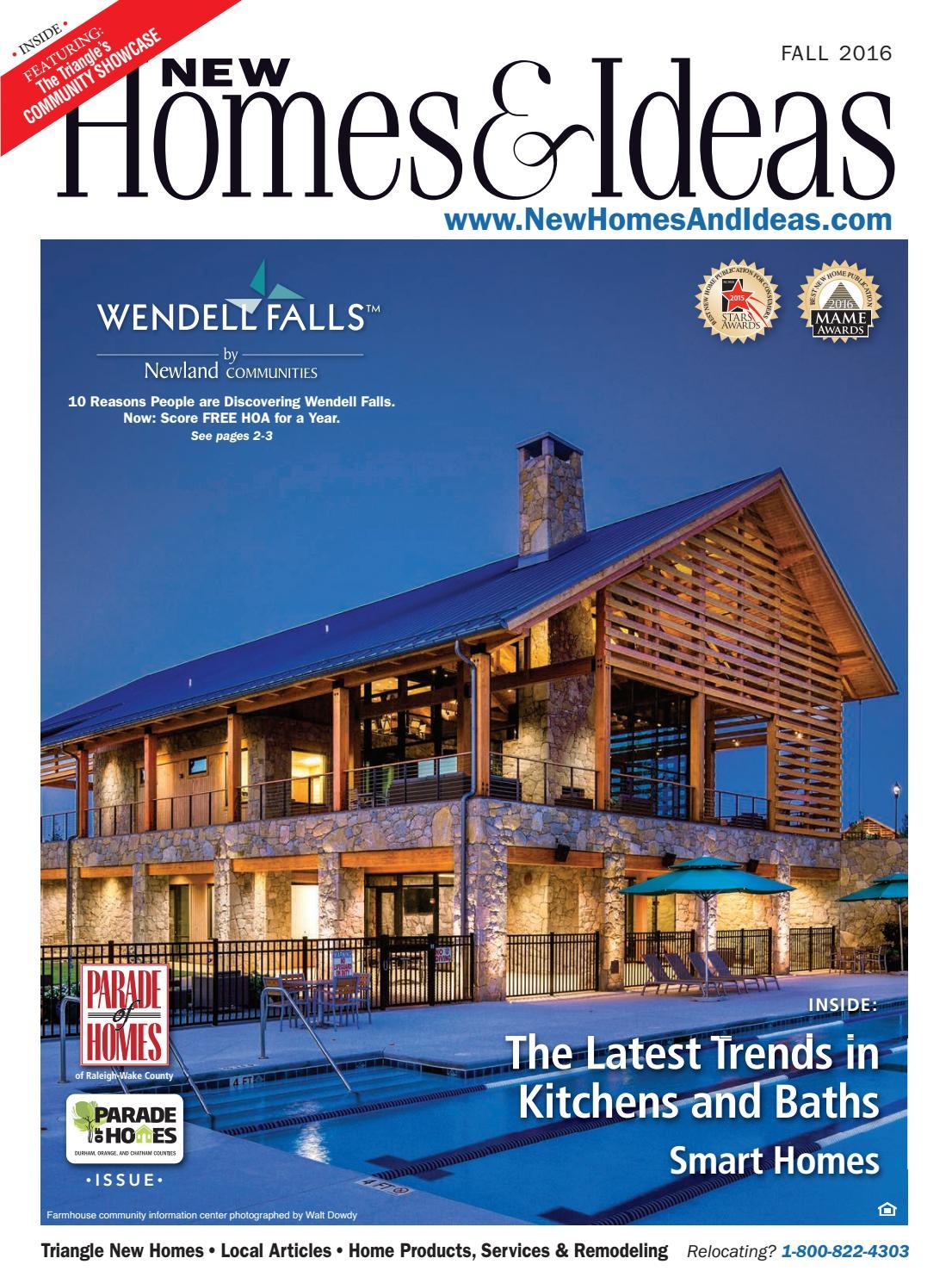 : New Homes & Ideas - Fall 2016