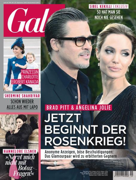 : Gala Germany - 29 September 2016