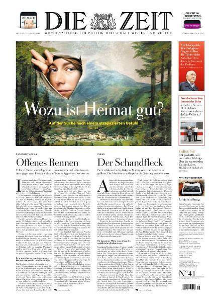 : Die Zeit - 29 September 2016
