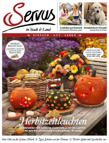 : Servus No 10 - Oktober 2016