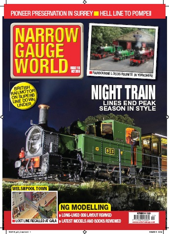 : Narrow Gauge World - October 2016