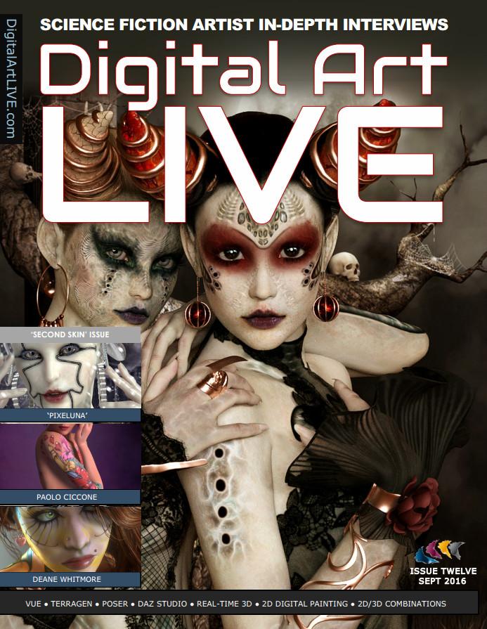 : Digital Art Live - Issue 12 September 2016