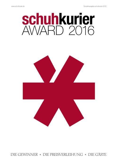 : Schuhkurier - Award 2016