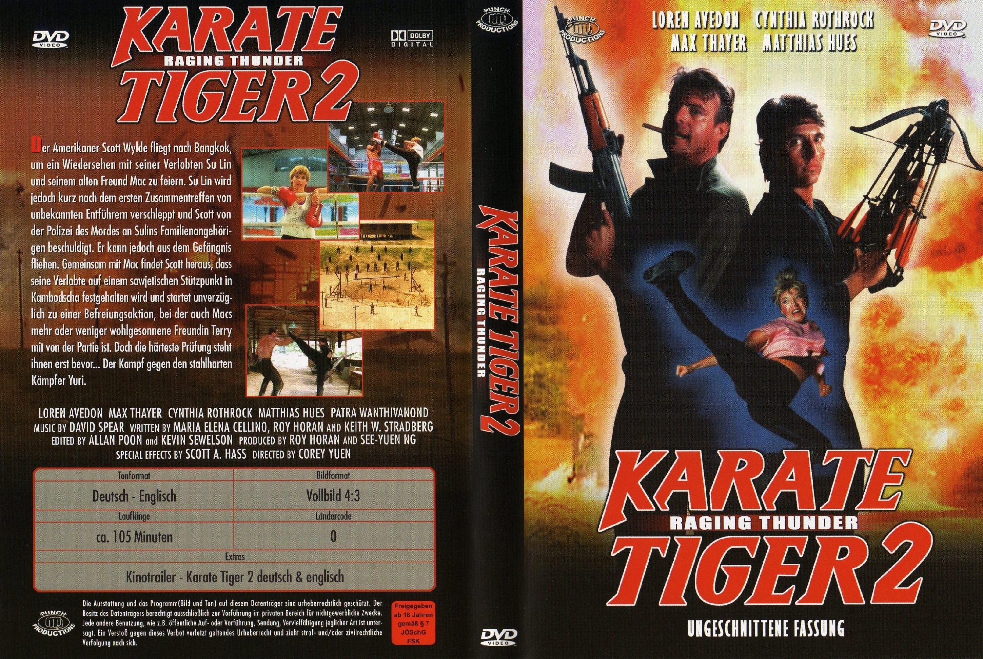 action karate tiger 2 1988 german dl ac3 dvd5 untouched dvd5. Black Bedroom Furniture Sets. Home Design Ideas