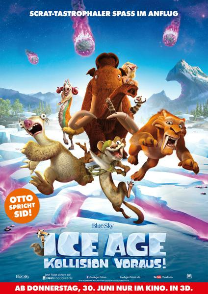 : Ice Age Kollision voraus 2016 German BDRip ac3 LiNE dubbed XViD CiNEDOME