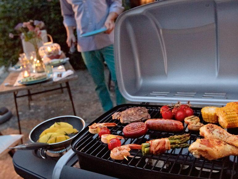 tepro gasgrill fremont 3207 2 brenner mit seiten kocher 7 kw gas grill ebay. Black Bedroom Furniture Sets. Home Design Ideas